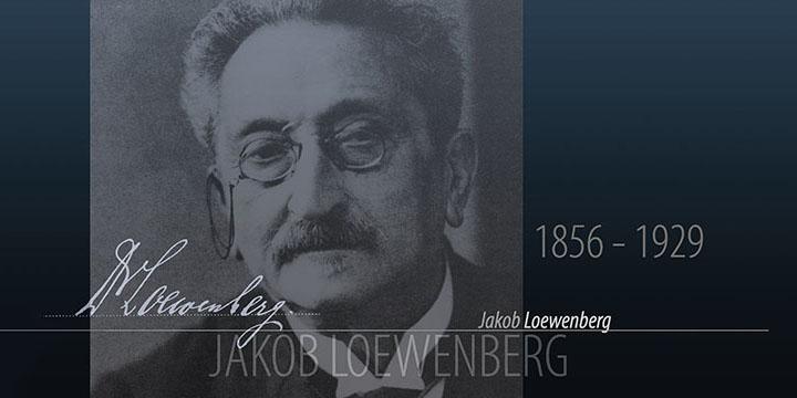 Jakob Loewenberg</br>(1856-1929)
